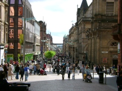looking_down_buchannan_street_glasgow